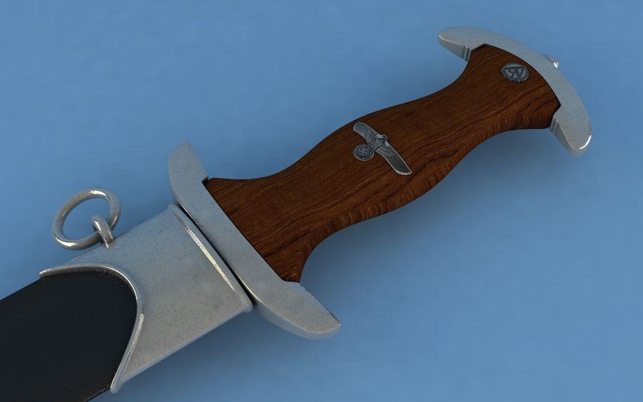 Dagger SA royalty-free 3d model - Preview no. 3