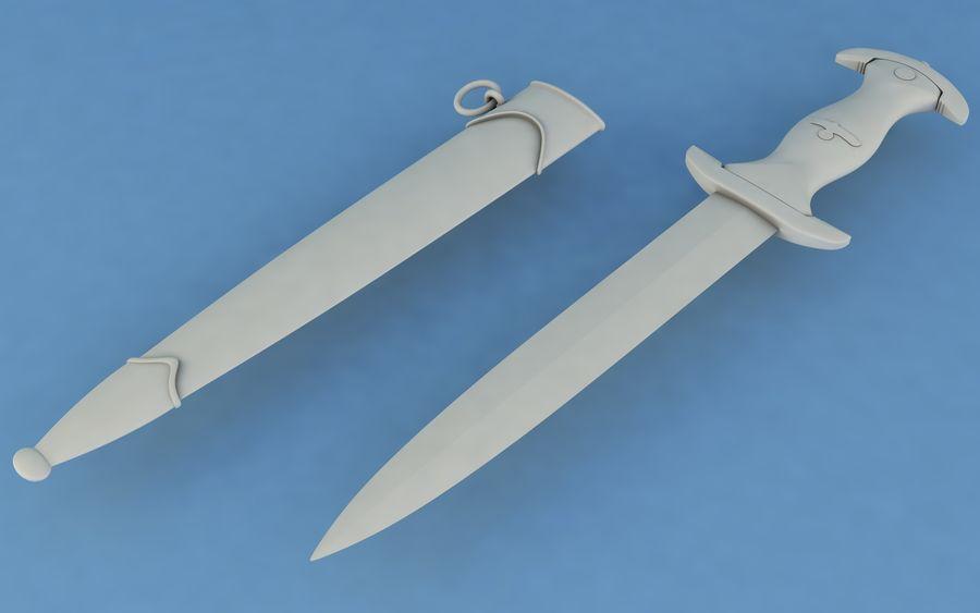 Dagger SA royalty-free 3d model - Preview no. 5