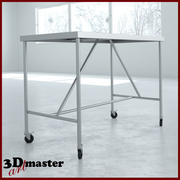 Grande table à instruments 3d model