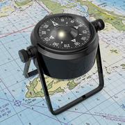 Marine Compass 3d model
