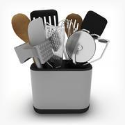 Kitchen Tools Set 3d model