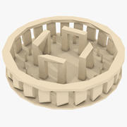Stonehenge Low Poly 3d model