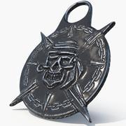 Pirate artifact 3d model