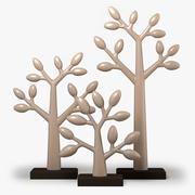 Clay Trees 3d model