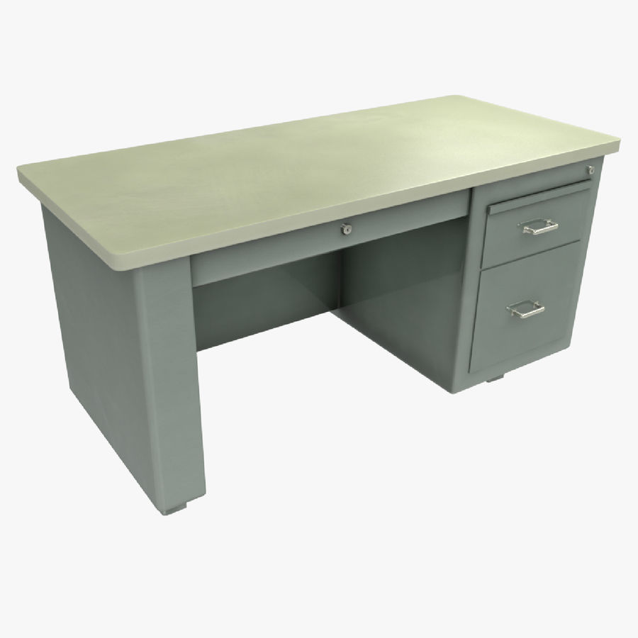 Desk Table royalty-free 3d model - Preview no. 1