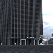 20 Story Office Tower 3d model