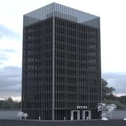 12 Story Office Tower 3d model