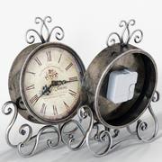 Reloj vintage modelo 3d