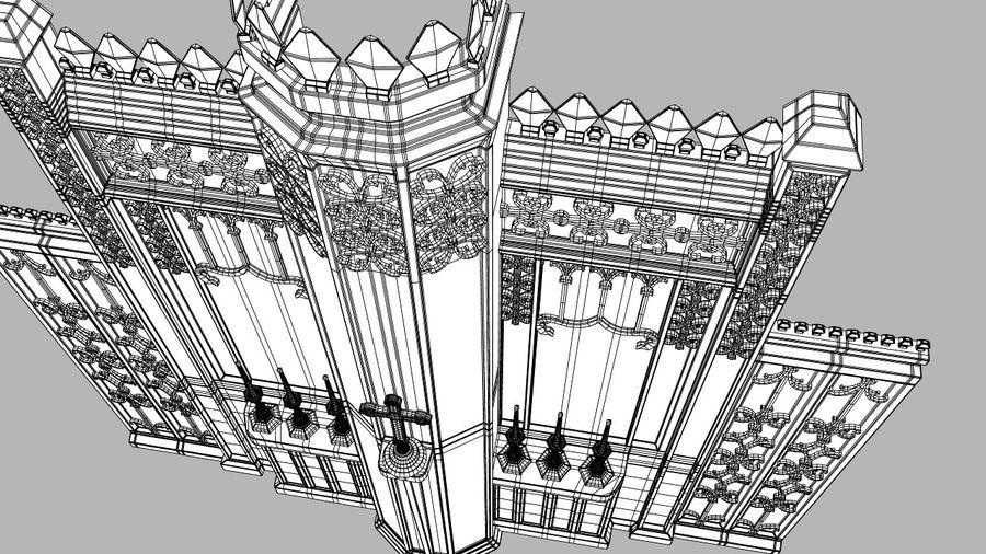 교회 제단 royalty-free 3d model - Preview no. 6