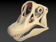 ブラキオサウルス・スカル 3d model