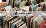 Vintage boeken 3d model