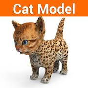 cat kitten 3d model