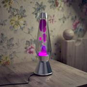 High Poly Лава Лампа 3d model