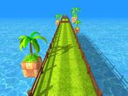 Endless Runner / Racing Game Scene 3d model