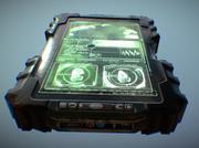 Juego listo militar PDA (Sorteo) modelo 3d