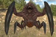 Alien Queen Monster 3d model
