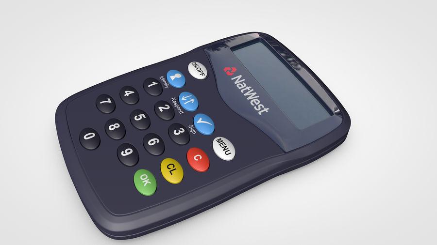 Online-Kartenleser royalty-free 3d model - Preview no. 2