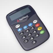 Leitor de Cartão Online 3d model
