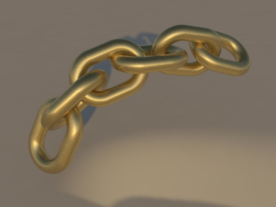 Old Pocket Watch royalty-free 3d model - Preview no. 4