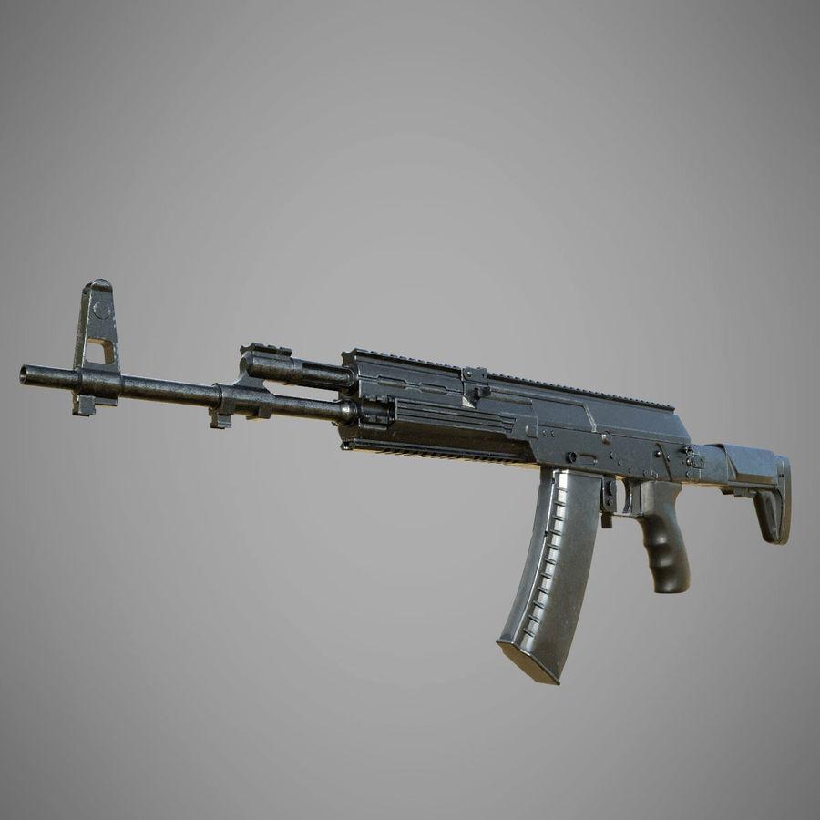 AK 12 royalty-free 3d model - Preview no. 1