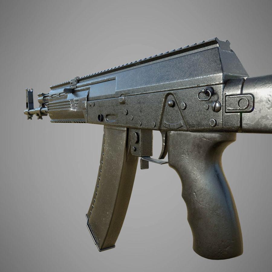AK 12 royalty-free 3d model - Preview no. 3