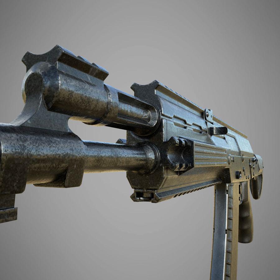 AK 12 royalty-free 3d model - Preview no. 4