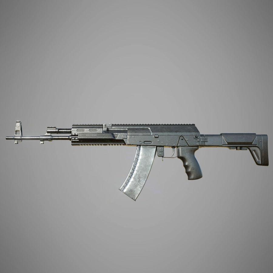 AK 12 royalty-free 3d model - Preview no. 2