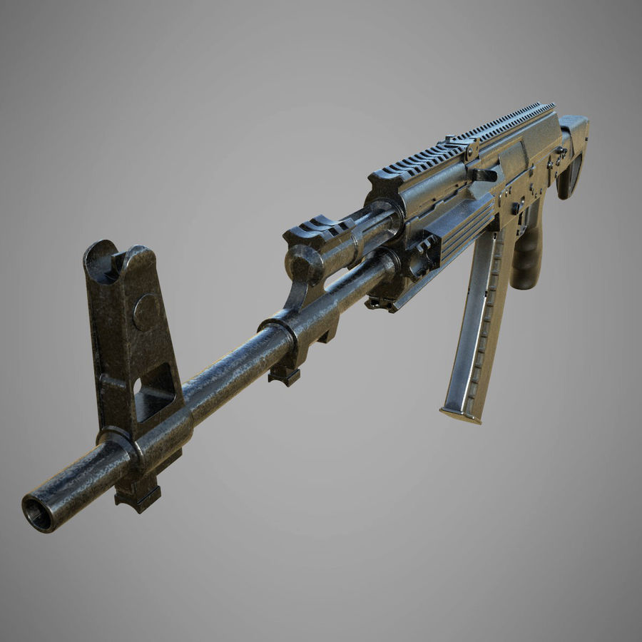 AK 12 royalty-free 3d model - Preview no. 5
