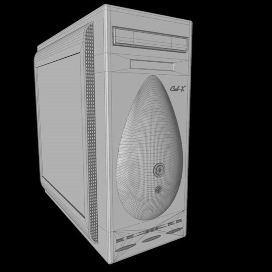 Корпус для ПК с 2 типами лицевой панели royalty-free 3d model - Preview no. 11