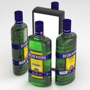 Becherovka 500ml Bottle 3d model