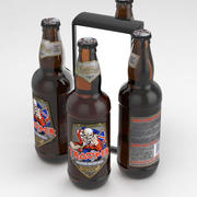 Beer Bottle Robinsons Iron Maiden Trooper 500ml 3d model