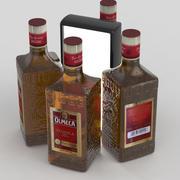 Olmeca Tequila Gold 700ml Bottle 3d model