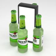 Breezer Green Lime 275ml Bottle 3d model