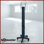 Medical Irrigation Tower 3d model