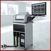 Système de numérisation XRAY pour la radiologie 3d model
