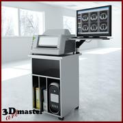 放射線用デジタイザーシステムXRAY 3d model