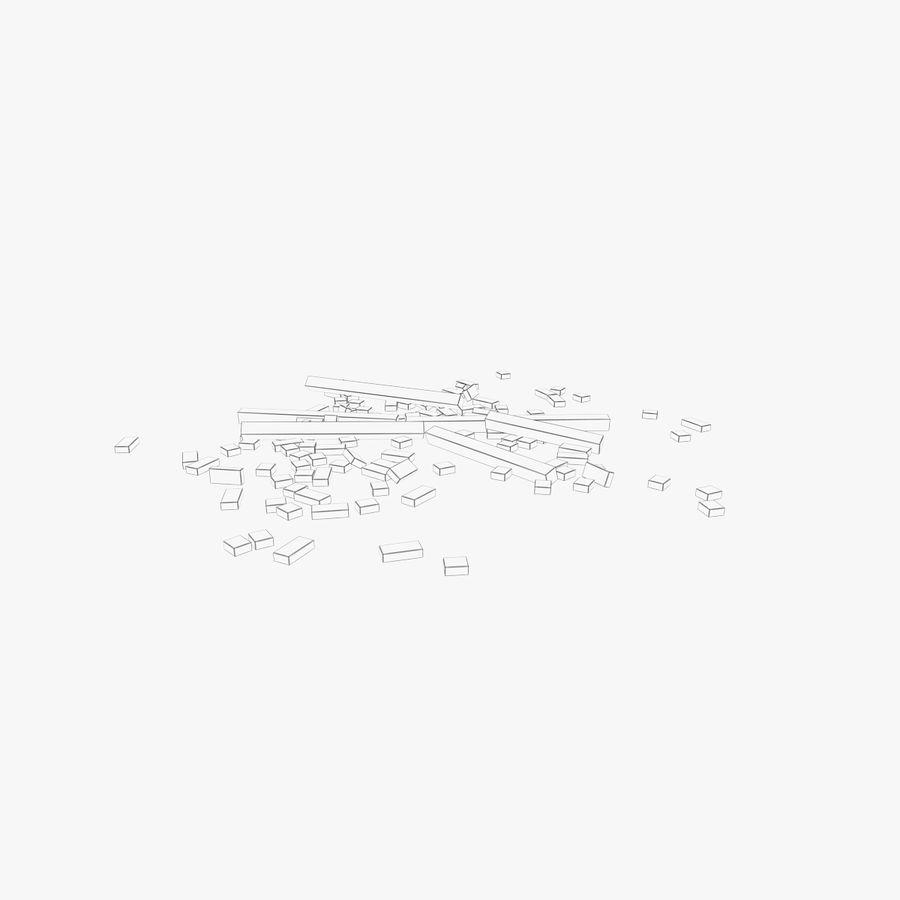 Pila de escombros, paquete de 12 royalty-free modelo 3d - Preview no. 137