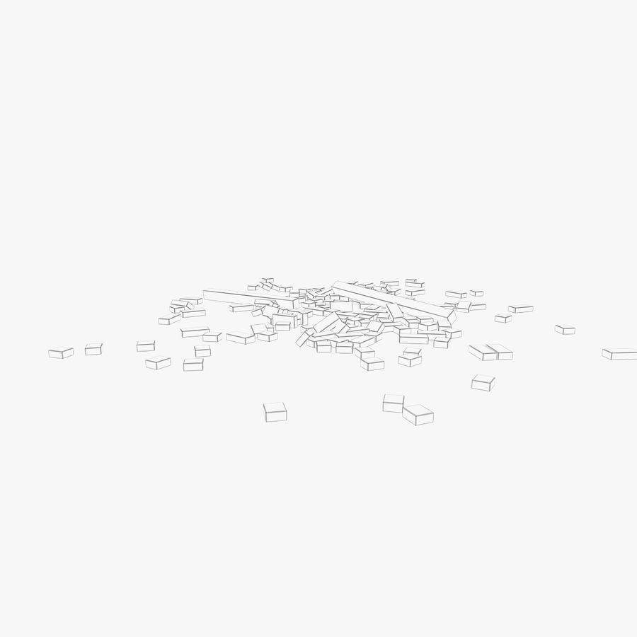Pila de escombros, paquete de 12 royalty-free modelo 3d - Preview no. 134