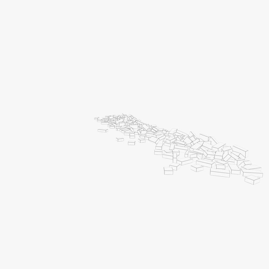 Pila de escombros, paquete de 12 royalty-free modelo 3d - Preview no. 114