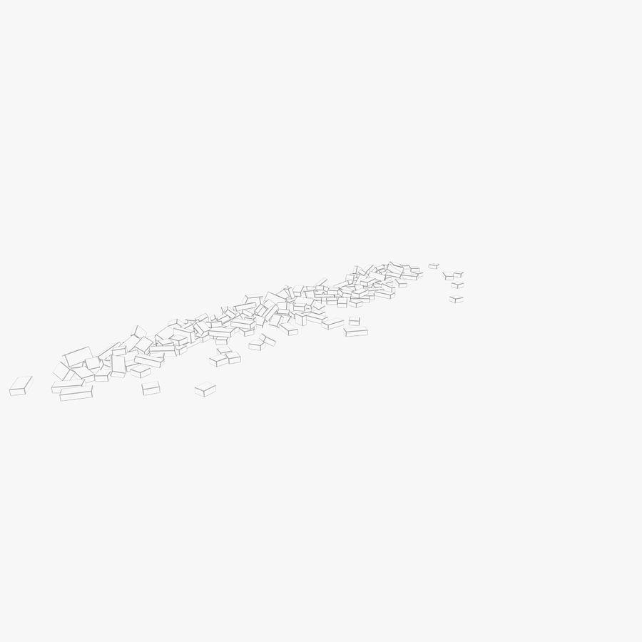 Pila de escombros, paquete de 12 royalty-free modelo 3d - Preview no. 109