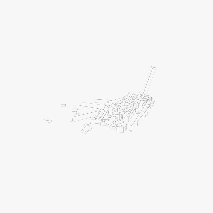 Pila de escombros, paquete de 12 royalty-free modelo 3d - Preview no. 23