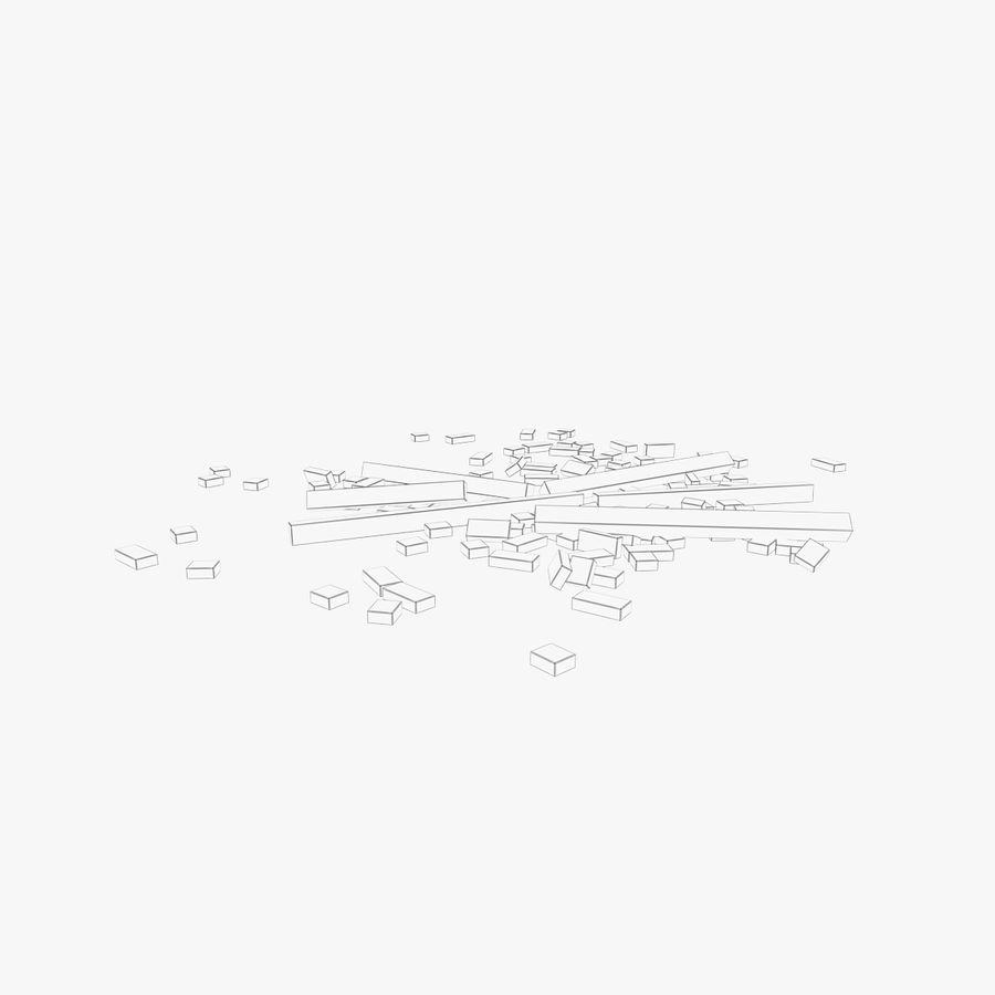 Pila de escombros, paquete de 12 royalty-free modelo 3d - Preview no. 139