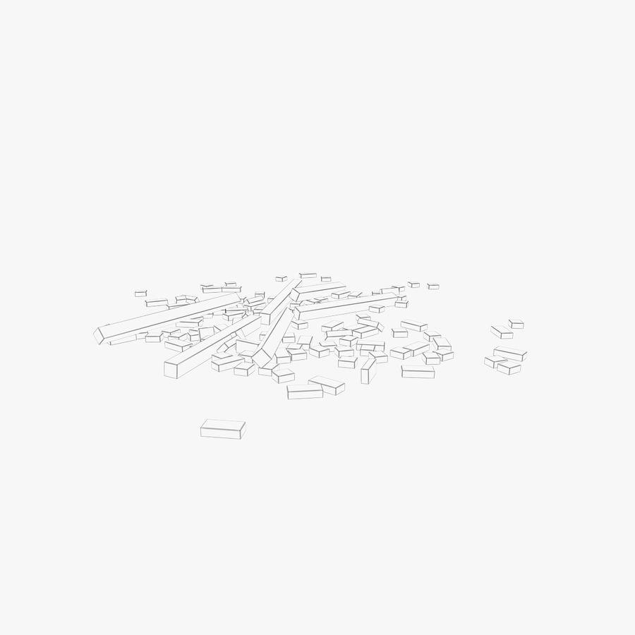 Pila de escombros, paquete de 12 royalty-free modelo 3d - Preview no. 140