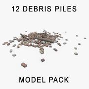 Gruz Pile 12 Pack 3d model