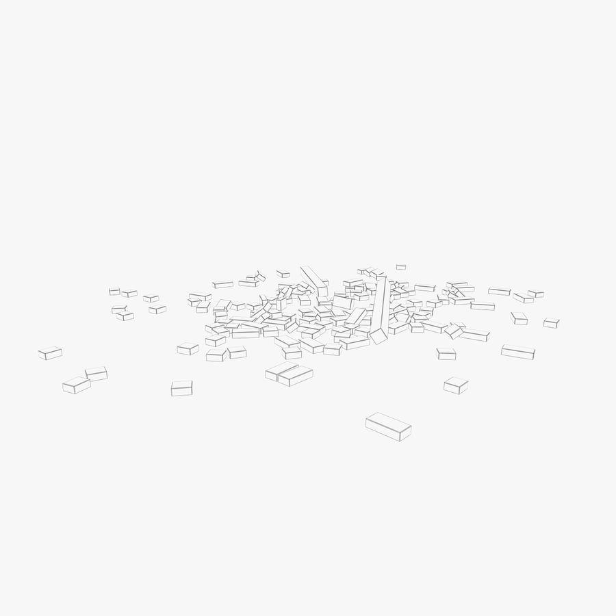 Pila de escombros, paquete de 12 royalty-free modelo 3d - Preview no. 135