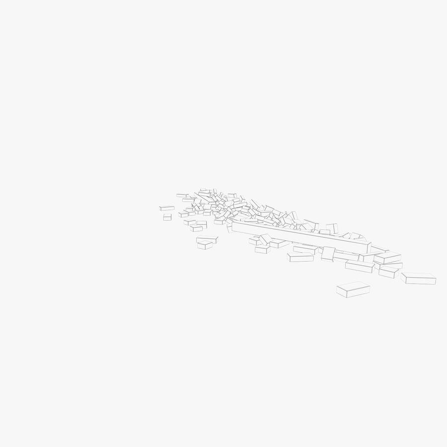 Pila de escombros, paquete de 12 royalty-free modelo 3d - Preview no. 118