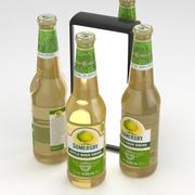 Beer Bottle Somersby Apple Beer Drink 400ml 3d model
