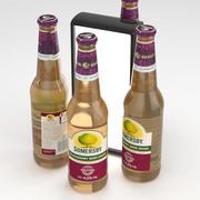 Beer Bottle Somersby Blackberry Beer Drink 400ml 3d model