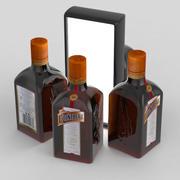 Cointreau 500ml Bottle 3d model
