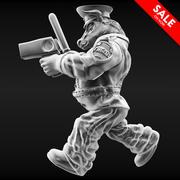Bull policier 3d model
